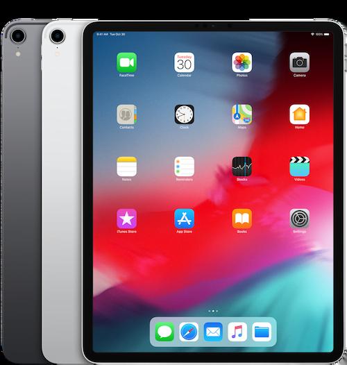 "iPad 12.9"" (3. Gen) 2018 reparationer"